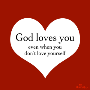 god loves you cross cards